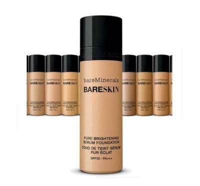 bareMinerals - bareMinerals BareSkin Pure Brightening Serum Foundation SPF20 All Skin Types - Bare Walnut 18 1 oz