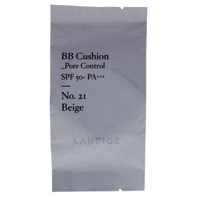 Laneige - BB Cushion Pore Control Foundation SPF 50 - 21 Beige 0,5oz