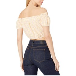 Bcbgeneration Multi Off Shoulder Puff Sleeve Top - Tbb1206189 - Thumbnail