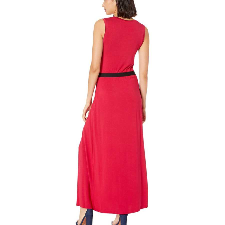 Bcbgmaxazrıa Sangria Twofer Knit Maxi Dress