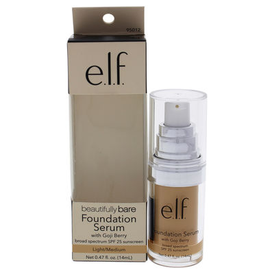 e.l.f. - Beautifully Bare Foundation Serum SPF 25 - Light-Medium 0,47oz