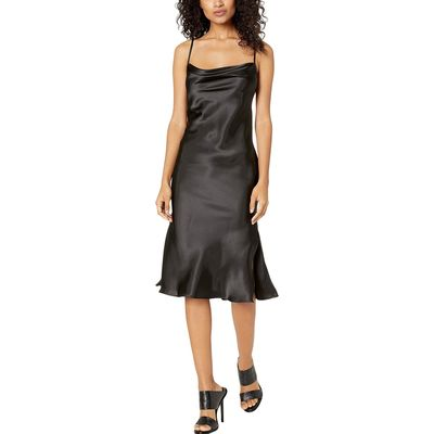 Bebe - Bebe Black Satin Slip Dress