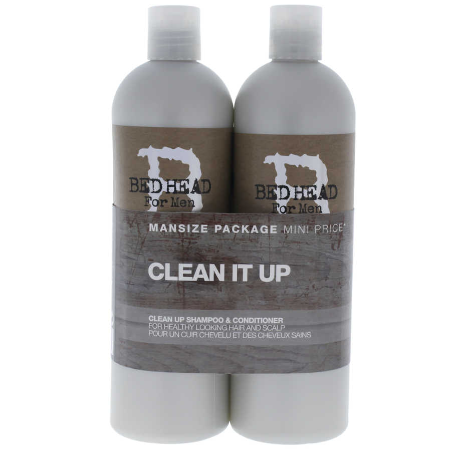 Bed Head B For Men Clean Up Kit 2Pc Kit