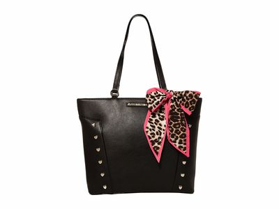 Betsey Johnson - Betsey Johnson Black Bb19305 Tote Handbag