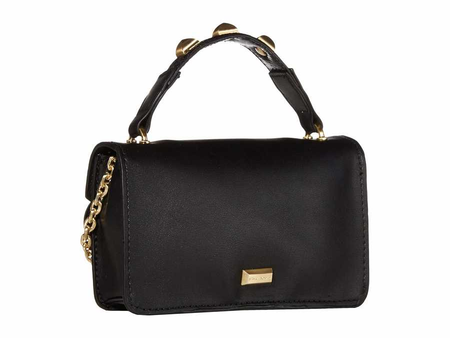 Betsey Johnson Black İn The Clouds Mini Cross Body Bag
