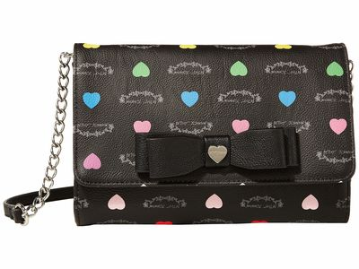 Betsey Johnson - Betsey Johnson Black/Multi Bb19330 Cross Body Bag