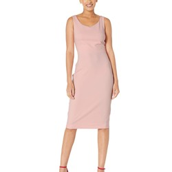 Betsey Johnson Blossom Bliss Scuba Crepe Midi Dress - Thumbnail