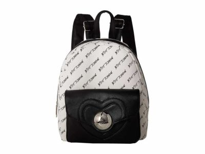 Betsey Johnson - Betsey Johnson Heart Lock Backpack Backpack