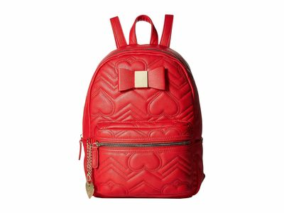 Betsey Johnson - Betsey Johnson Red Backpack