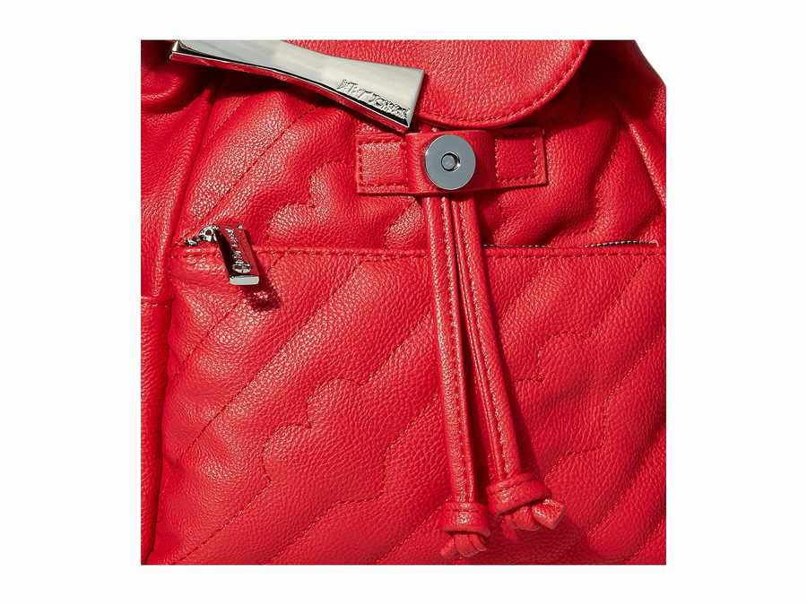 Betsey Johnson Red Bb19385 Backpack