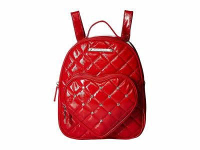 Betsey Johnson - Betsey Johnson Red Heart Pocket Backpack