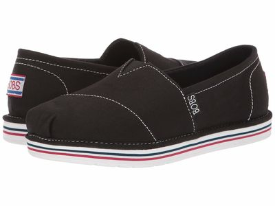 Bobs From Skechers - Bobs From Skechers Women Black Bobs Breeze - New Discovery Loafers