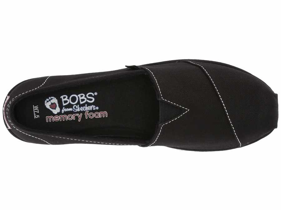 Bobs From Skechers Women Black Bobs Breeze - New Discovery Loafers