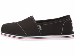Bobs From Skechers Women Black Bobs Breeze - New Discovery Loafers - Thumbnail