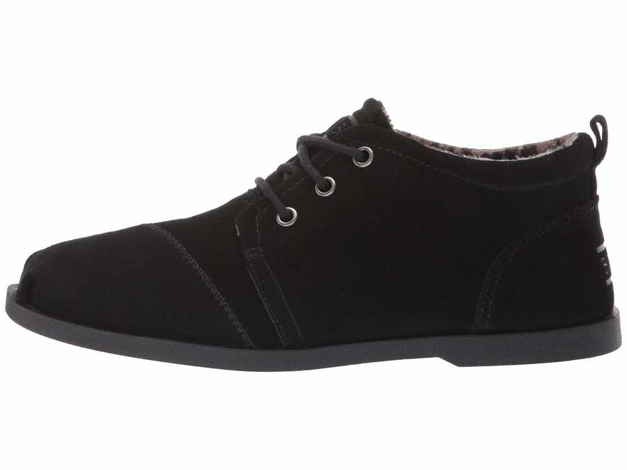 Bobs From Skechers Women Black Chill Luxe - Windy Roads Chukka Boots