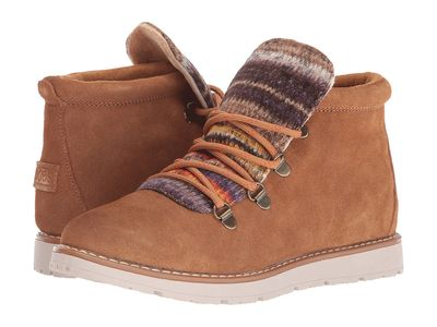 Bobs From Skechers - Bobs From Skechers Women Chestnut Bobs Alpine - S'Mores Lace Up Boots