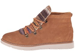 Bobs From Skechers Women Chestnut Bobs Alpine - S'Mores Lace Up Boots - Thumbnail