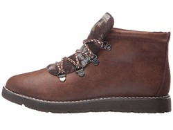 Bobs From Skechers Women Chocolate Bobs Alpine - Keep Trekking Lace Up Boots - Thumbnail