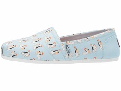 Bobs From Skechers Women Light Blue Bobs Plush - Sooo Happy Loafers - Thumbnail