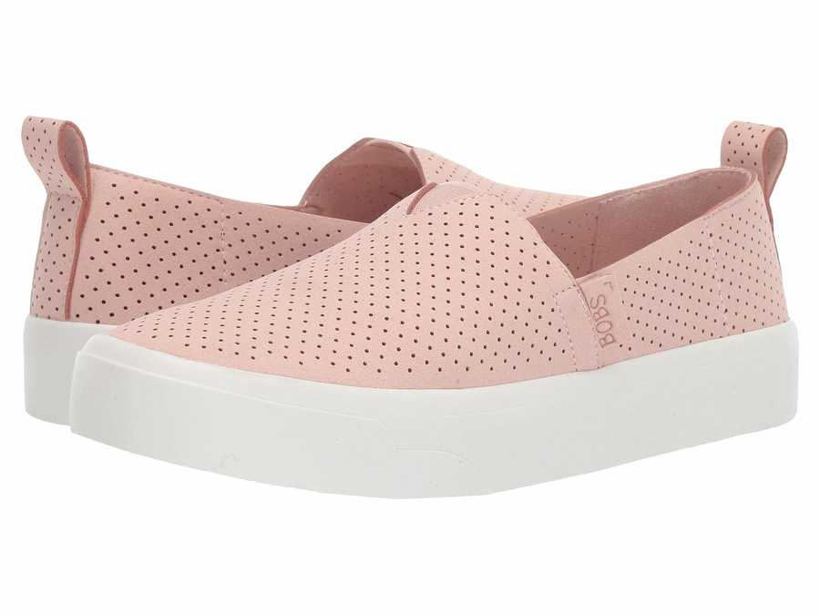 Bobs From Skechers Women Light Pink Bobs Cloudy - City Girl Lifestyle Sneakers