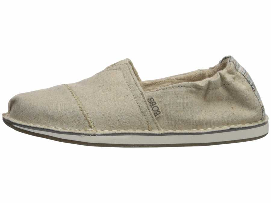 Bobs From Skechers Women Natural Bobs Chill Flats