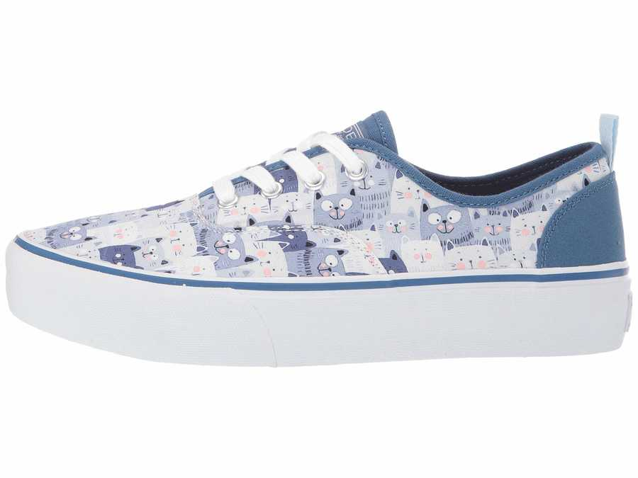 Bobs From Skechers Women Navy Marley - Summer Tour Lifestyle Sneakers