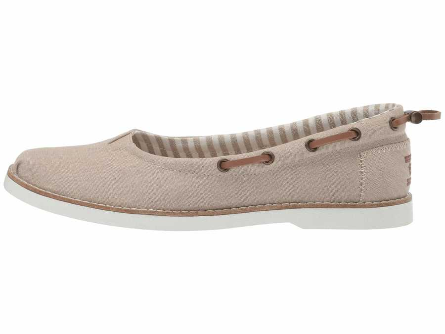 Bobs From Skechers Women Taupe Chill Luxe - Saturdays Flats