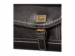 B.O.C. Black Amherst Deluxe Wallet Tri-Fold Wallet - Thumbnail