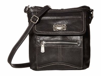 B.O.C. - B.O.C. Black Bronson Organizer Cross Body Bag