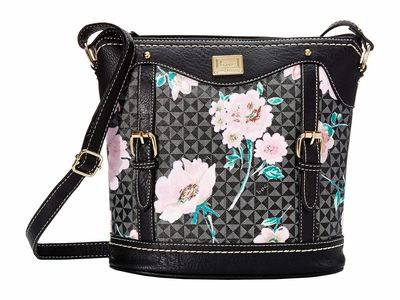 B.O.C. - B.O.C. Black/Black Travis Floral Cross Body Bag