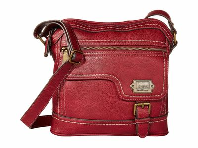 B.O.C. - B.O.C. Burgundy Dakota Cross Body Bag