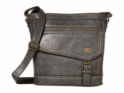 B.O.C. - B.O.C. Charcoal 2 Amherst Cross Body Bag