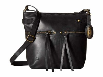 Born - Born Black Crafton Cross Body Bag