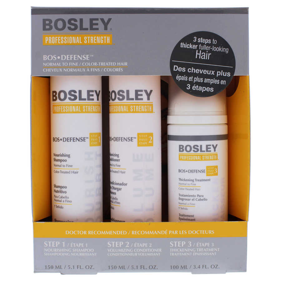 Bos Defense - Normal to Fine Color-Treated Hair 3Pc