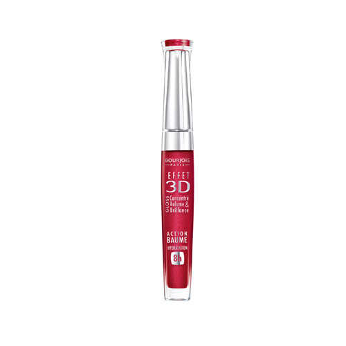 Bourjois 3D Effet Lip Gloss - 06 Rouge Democratic 0.19 oz