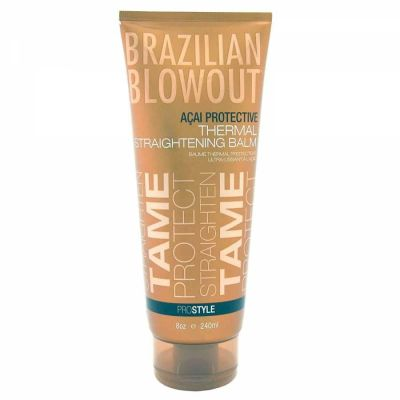 Brazilian Blowout - Brazilian Blowout Acai Protective Thermal Straightening Balm 8 oz