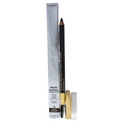 Lancome - Brow Shaping Powdery Pencil - 08 Dark Brown 0,042oz