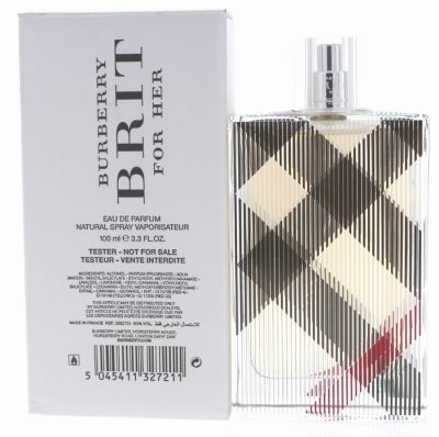 Burberry - Burberry Brit EDP 100 ML (3.4oz) Women Perfume (Tester)