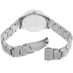 Burgi Women's Quartz Diamond Dial Stainless Steel Bracelet Watch BUR090SS - Thumbnail