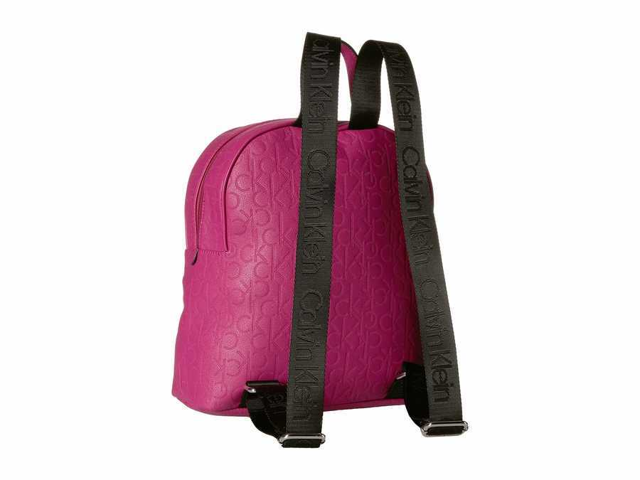 Calvin Klein Boysenberry Bubble Lamb Novelty Backpack