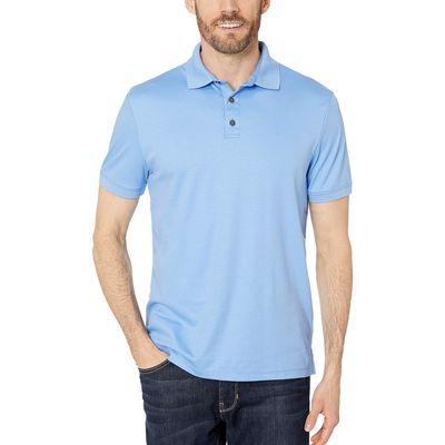 Calvin Klein - Calvin Klein Cornflower Blue The Liquid Touch Polo