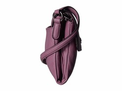 Calvin Klein Deep Lilac Bubble Lamb Novelty Original Cross Body Bag - Thumbnail