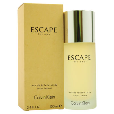 Calvin Klein - Calvin Klein Escape EDT 100 ML (3.4oz) Men Perfume (Original)