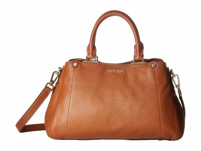 Calvin Klein - Calvin Klein Luggage Jackson Pebble Leather Satchel Satchel Handbag
