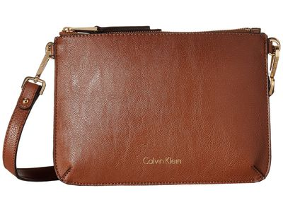 Calvin Klein - Calvin Klein Luggage/Black Reversibles Pebble Pvc Messenger Cross Body Bag