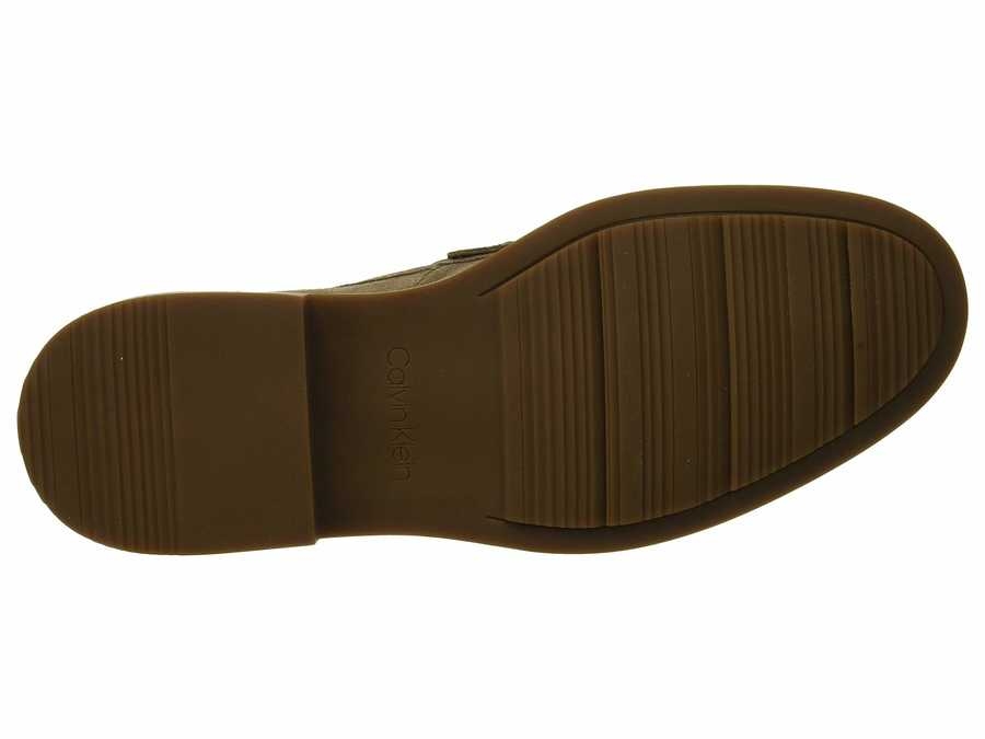 Calvin Klein Men Army Fatigue Vance Loafers