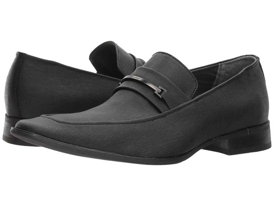 Calvin Klein Men Black Bowery Loafers