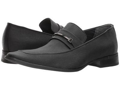Calvin Klein - Calvin Klein Men Black Bowery Loafers