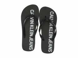 Calvin Klein Men Black Errol Flip Flops - Thumbnail