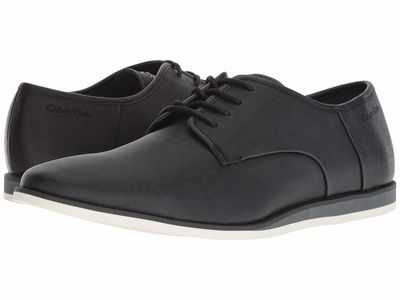 Calvin Klein - Calvin Klein Men Black Kadon 2 Oxfords